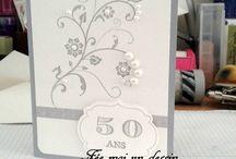 carte 50 ans mariage