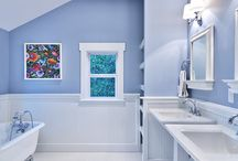 Bathroom (Hall) Remodel / by Debbie Cress
