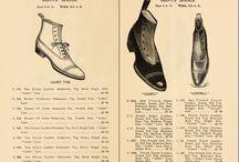 Old fashion shoes / Catalogo de calzado de Andrew Alexander de principios de 1900, empresa situada en la sexta avenida de New York city.-   Catalog footwear Andrew Alexander of the early 1900s, a company located on Sixth Avenue in New York city.