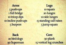 Workouts / by Kelly Friedrichsen