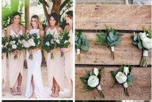 Весенние свадебные цвета