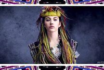 Foklor   Aveda Fall/Winter 2016 Collection / Hair, makeup and inspiration for the Aveda Foklor Collection