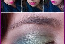 My make up / Tutti o quasi i make up del 2013