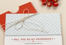 Maids & Men / Fun bridesmaid & groomsmen ideas