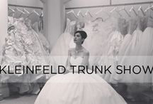 Kleinfeld Trunk Show / To schedule your appointment and meet the designer: bit.ly/kleinfeldappointments / by KleinfeldBridal