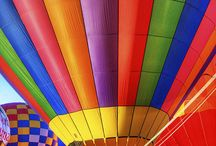Hot air balloons / Different kinds / by Karen Kempton