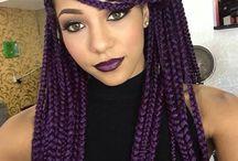 Coloured braids