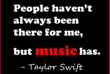 "The Love Quotes Celebrity Quotes : ""People haven't always been there for me, but music has."" – Taylor Swift…"