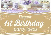 K 1st Birthday