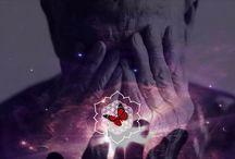 """RUMI /    """"Doar cu inima poti sa atingi cerul."""" - Rumi"""