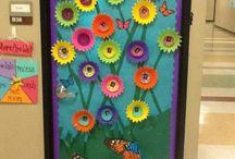 decoração de portas
