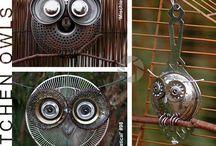 Owls / by Kristi Bednarek