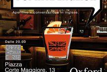 I Spritz English! Time capsule / Aperitivo + Conversazione in inglese, Pub Quiz e tanto divertimento insieme a tutti noi della Oxford! Nessun costo di partecipazione. Stay tuned for the next one! http://www.oxfordmontebelluna.it On Facebook Oxford Montebelluna