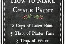 chalk paint self maak