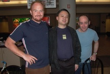 Pictures of me, Louis CK & William Hung at the Nashville Airport / by Todd Barry