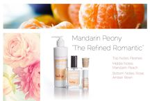 """Mandarin Peony - The Refined Romantic -  By Tulip Perfume /  """"The Refined Romantic"""" top notes: peonies  middle notes: mandarin, peach  bottom notes: rose, amber resin  """"And he took her in his arms and kissed her under the sunlit sky, and he cared not that they stood high upon the walls in the sight of many."""" J.R.R. Tolkien"""
