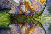 Josephine Wall paintings (love them!)