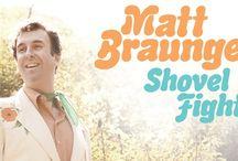 Matt Braunger: SHOVEL FIGHTER / Matt Braunger's Comedy Central special 'Shovel Fighter' premiered on 7/1/12 and is available for digital download
