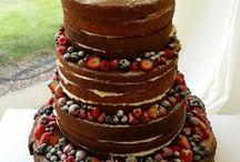 Naked Cake / lo nuevo en Bodas ...!!!