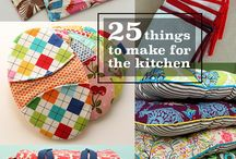 make and sew for kitchen