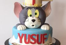 Tom and Jerry Cakes