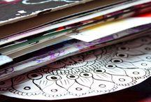 Art Journal/ artist book /Sketchbook / Creativity. Artist life. Art journal . drawing , painting ,pencil drawing ,ink. drawing tips, learn to draw, drawing and painting .Sketchbook