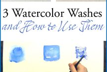 Watercolours / Tips hints and instructions