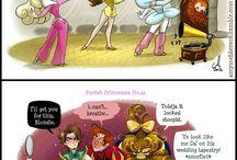 Disney princess comedy
