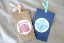 Unique wedding favors / Wedding favors by Tie That Binds Weddings Www.tiethatbindsweddings.com