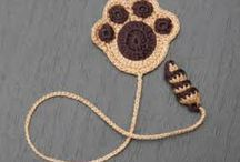 how to make crochet book mark patterns