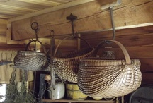 Old Baskets / by Early American Home