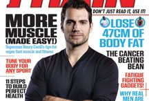 Train Magazine / Henry Cavill on the cover of Train Magazine Issue 29