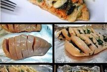Vetarme recepten / Lekker en zonder vet