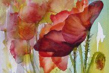 Watercolour / by Connie De