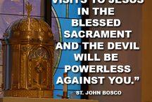 Blessed Sacrament / Eucharist