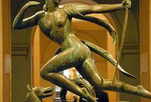 Target / Arc, hunting, love, desire, target, saint Sebastien, Diana, Artemis. Hunting