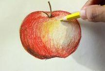 maľovanie s akv.ceruzkou