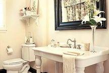 the bathroom / by Jessica Hedrick