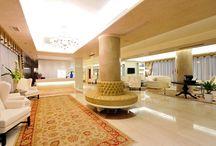 Hall, Hotel & Fitness Room