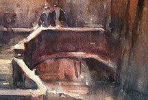 venice oil painting / Festés