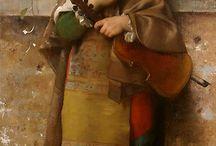 Muzuka w malarstwie