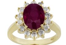 Rubies! Dorothy Never Had It So Good / Ruby jewelry, rings, earrings, pendants, bracelets and bangles.