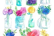 Illustration-Floral /Natural Objects