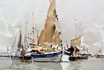 bateau dom aquarelle
