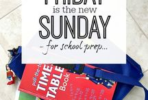 * Organise Kids @ School * / Get the kids organised when it comes to school stuff. Tips and inspiration for all aspects of creating a simpler life for them and you! Back to school | routines | schedules etc...