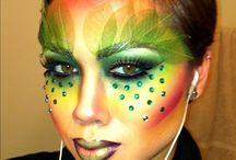maquillaje de arbol