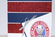Eagle Scout cards/decor