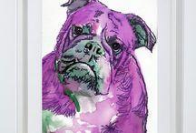English Bulldog fans / #bulldogs #englishbulldogs #britishbulldogs #dogs #pets