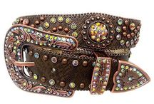 Western Bling Belts / Western Bling Belts, Western Style, Western Fashion, Country Style, Country Bling