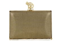 W&G Penny / The 'Penny' is a small box-shaped slimline clutch bag. The sides are sleekly beveled to fit comfortably in the hand.